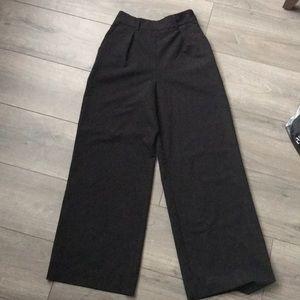 ASOS 00 Black Wide Leg Pants